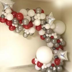 Arche ballons organique noël