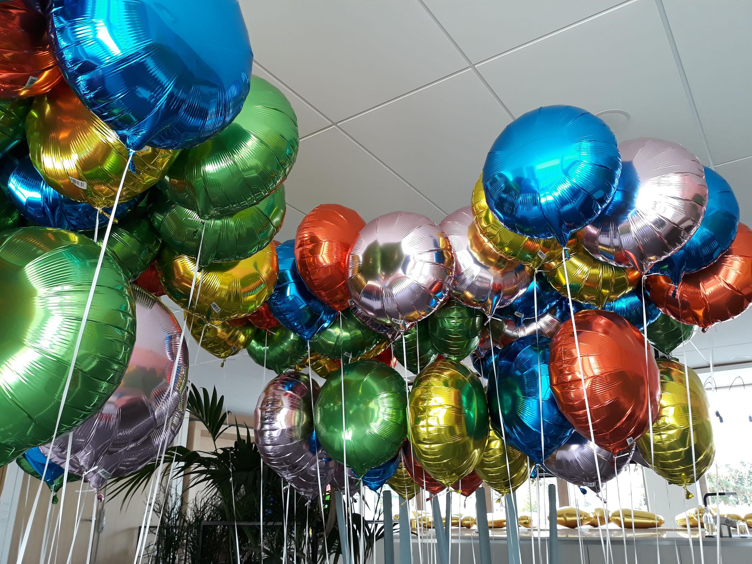 ballon alu helium