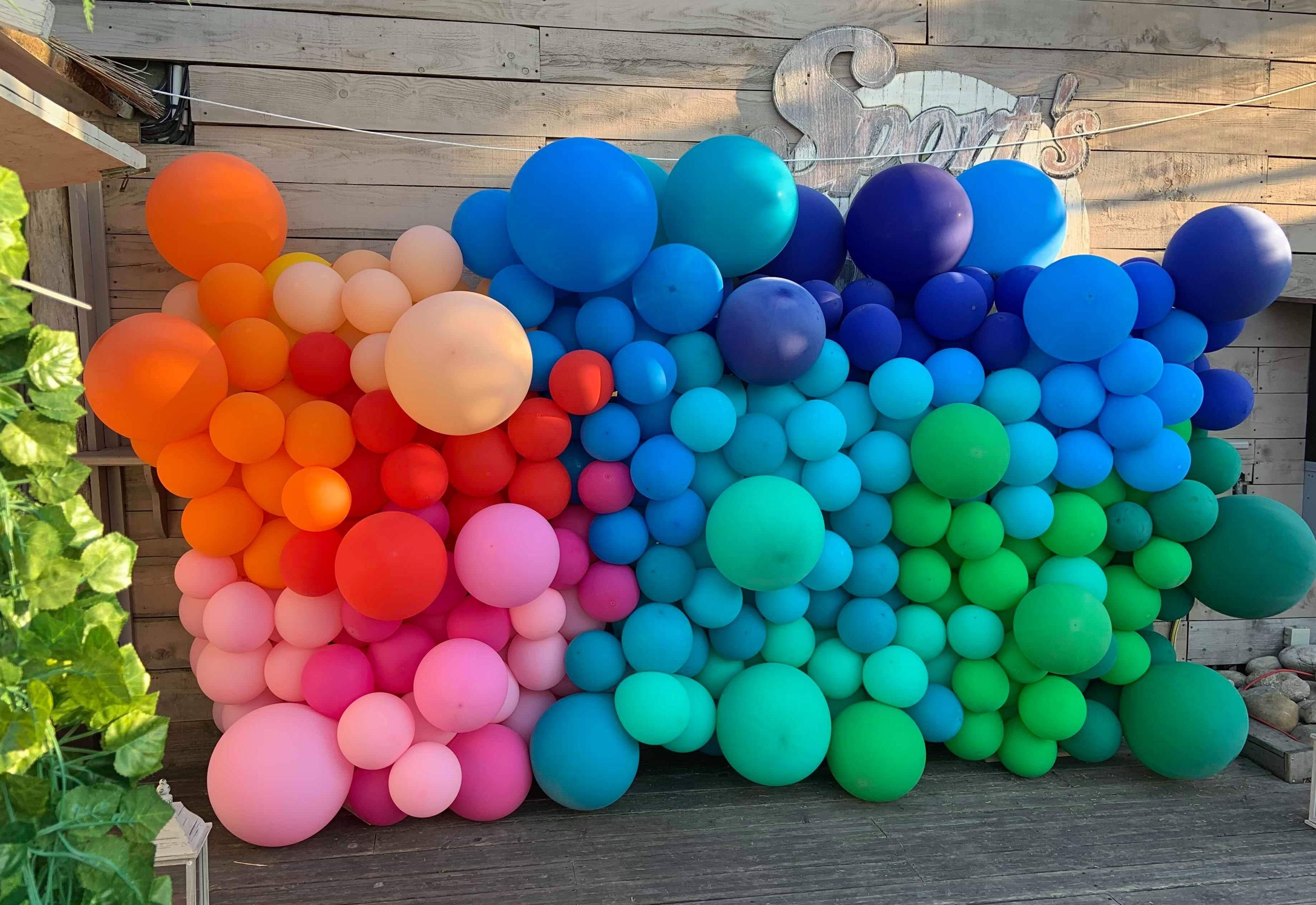 ballon organique mur