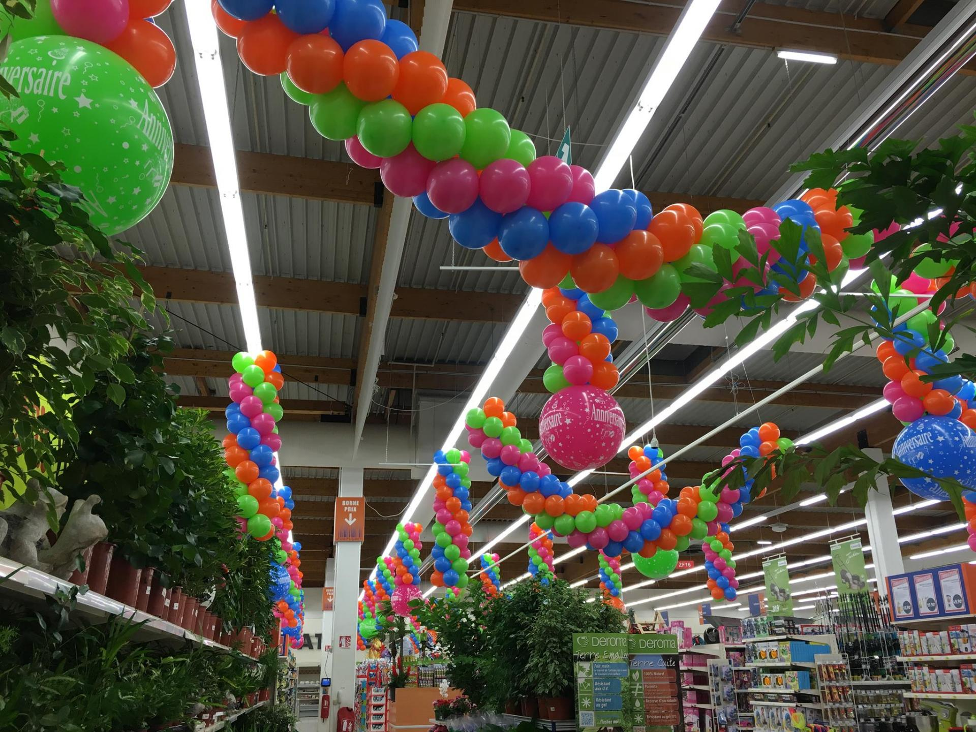 Déco Ballons Centre Leclerc