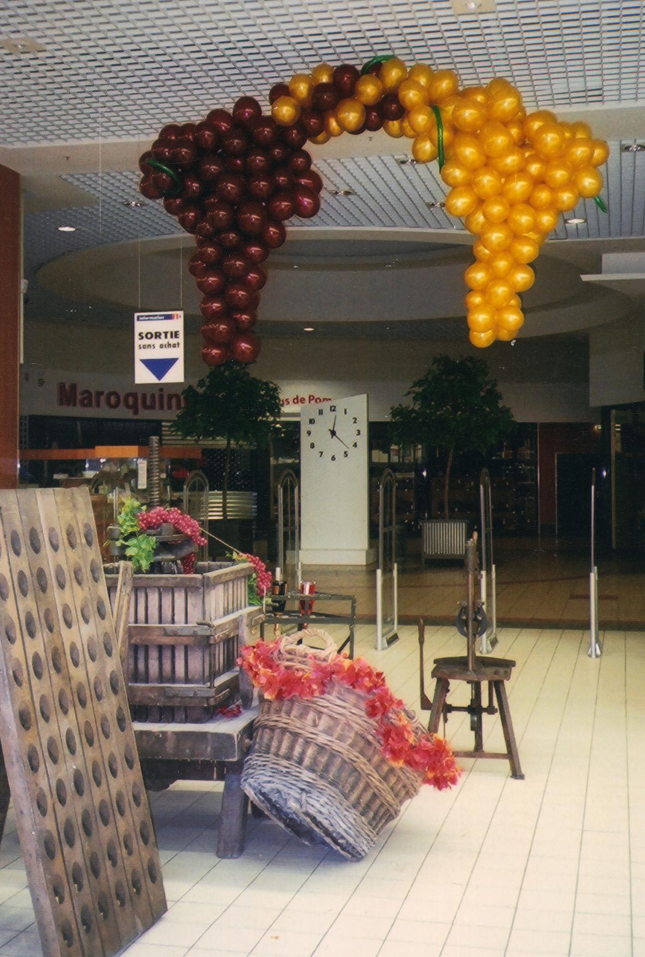 Décoration Ballons Foire aux Vins