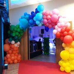 Arche Ballons déstructurés