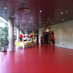 Salle de Réception Décorée avec Ballons