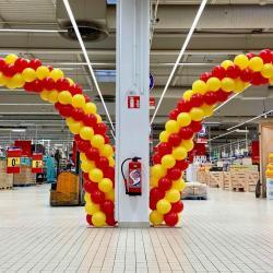 Arche en Ballons Ouverture Magasin