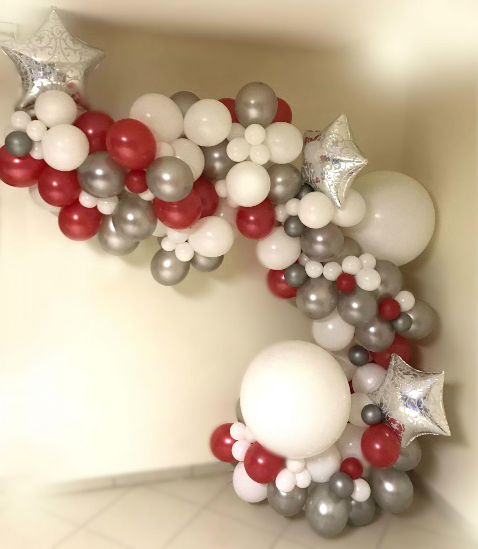 Demi Arche festive avec Ballons