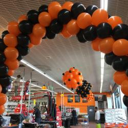 Inauguration magasin avec ballons