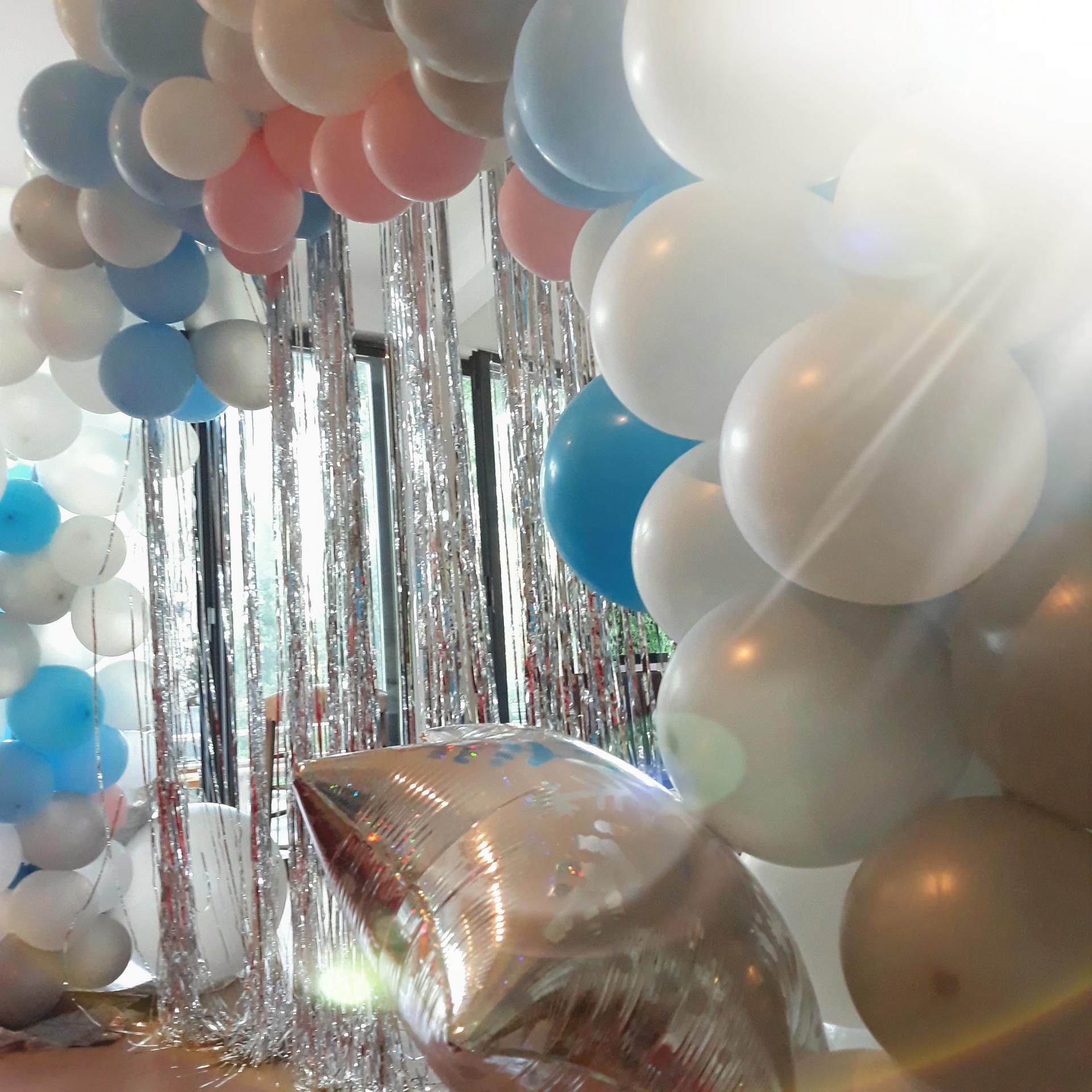 Organique Ballon Anniversaire