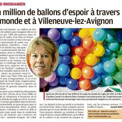 Article La Provence - Gard