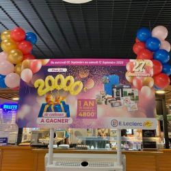 Colonne Ballons Anniversaire magasin