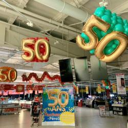 50 ans magasin Auchan