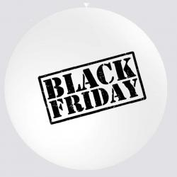 Ballon géant black friday