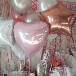 Bouquet ballon hélium - mylar & latex