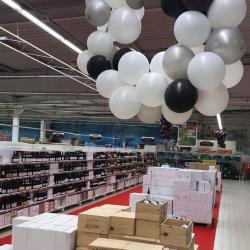 Ballons organique sur cerceau