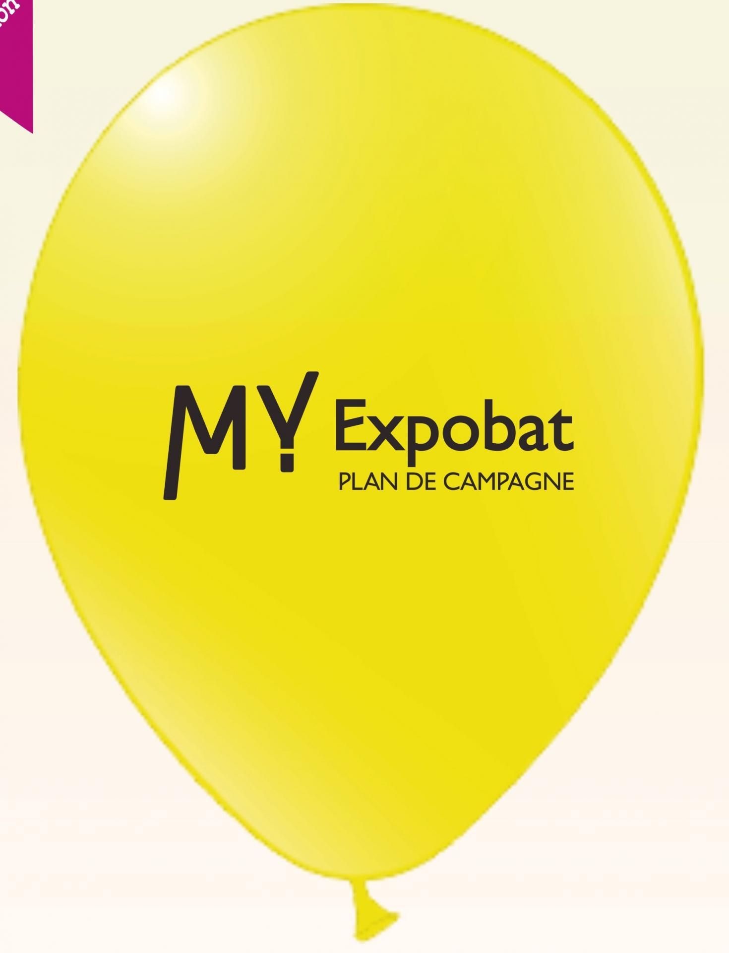 Ballon publicitaire pour évènement