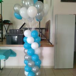 Colonne avec Ballon Helium