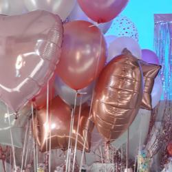Ballons mylar aluminium hélium