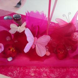 Déco baptême avec des papillons