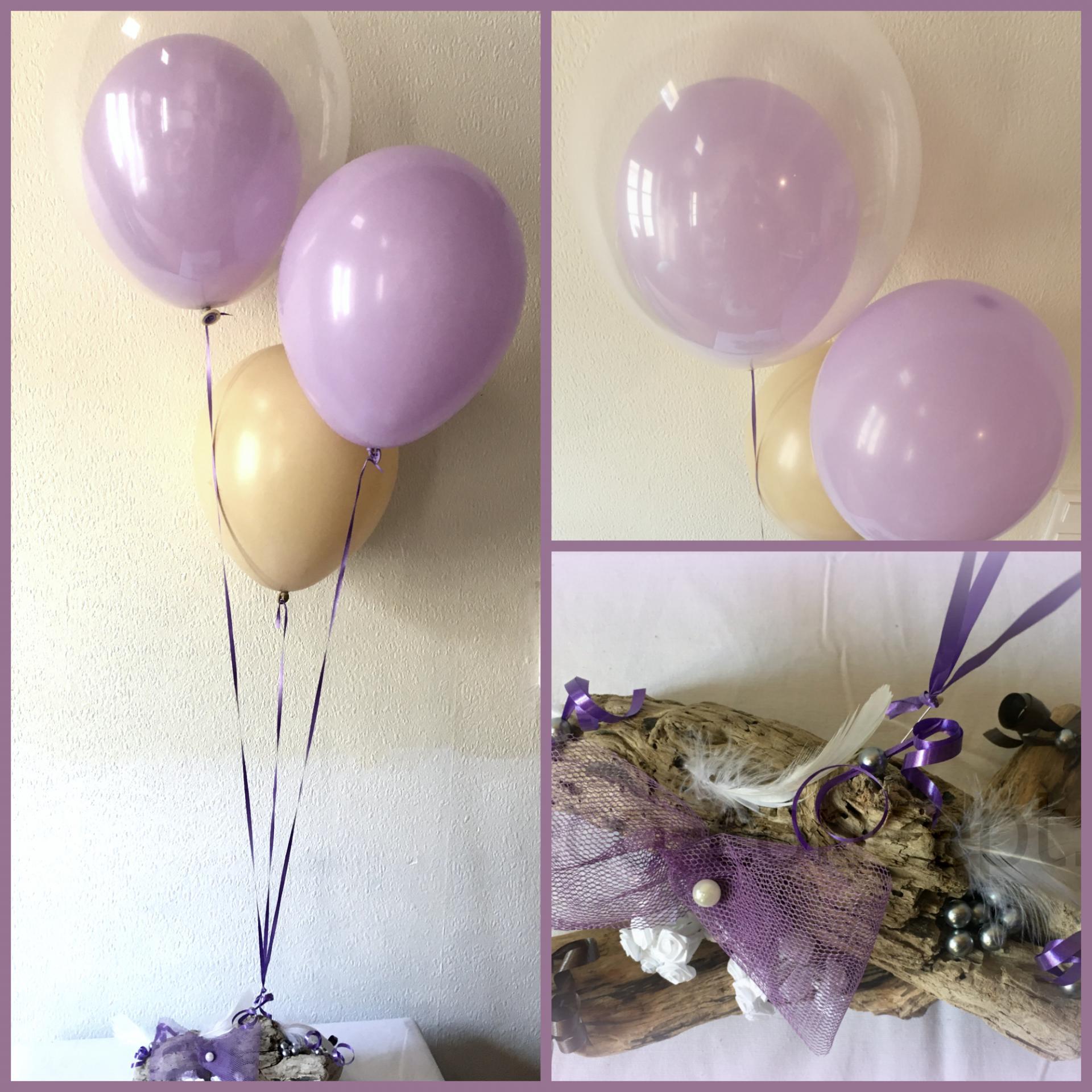 Centre de Table avec Ballons Hélium