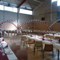 Décoration Ballons Mariage, arches à l'hélium