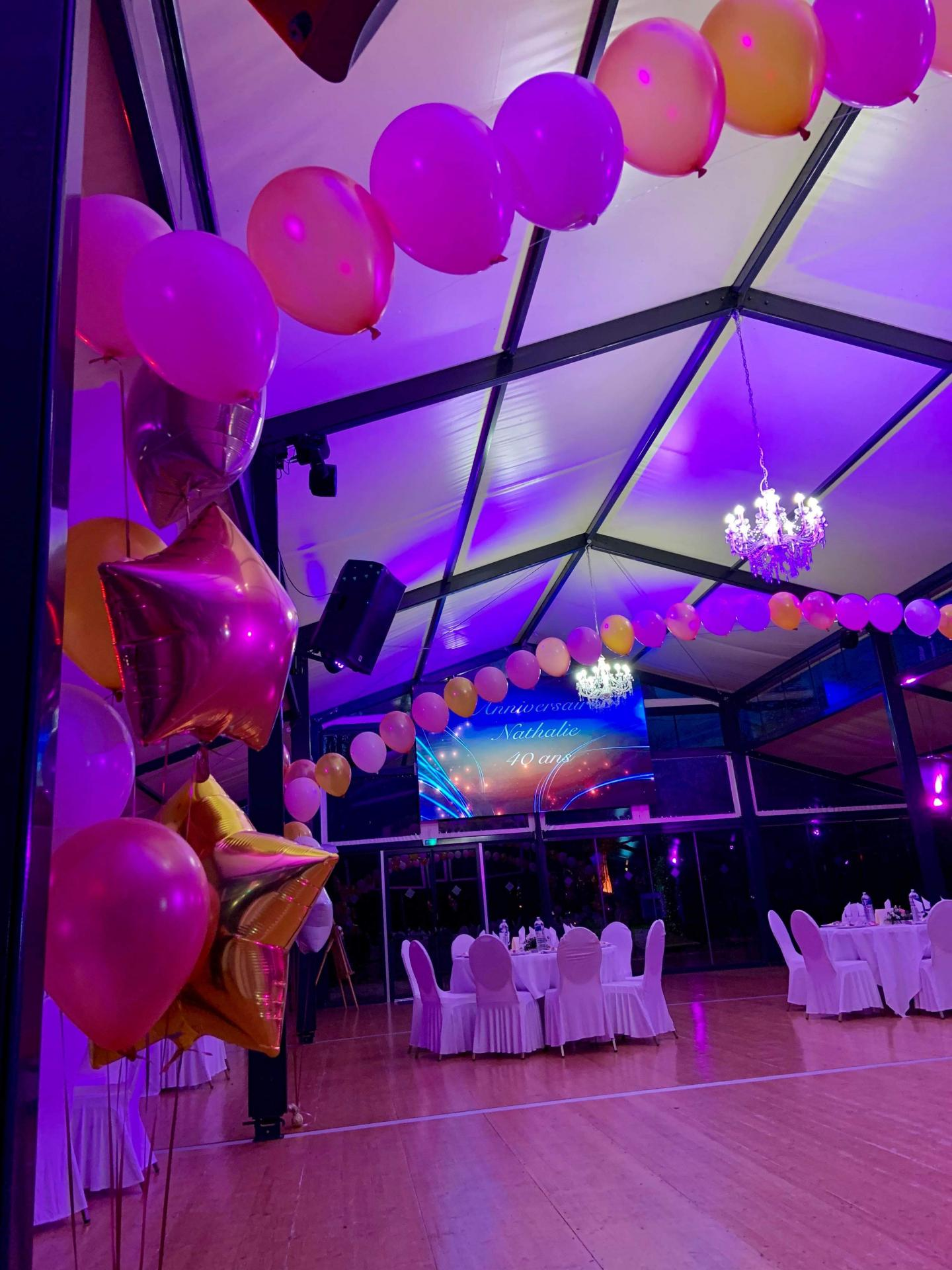 Ballon aluminium mylar hélium