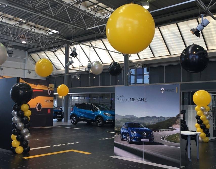 Ballons garage automobile Nîmes