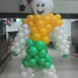 Bonhomme tout en Ballons