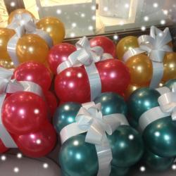 Déco de Noël avec paquets
