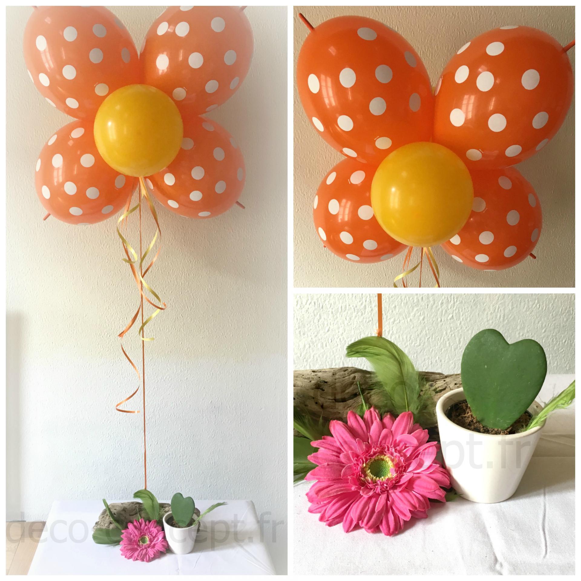 Décoration pour Anniversaire avec Ballons