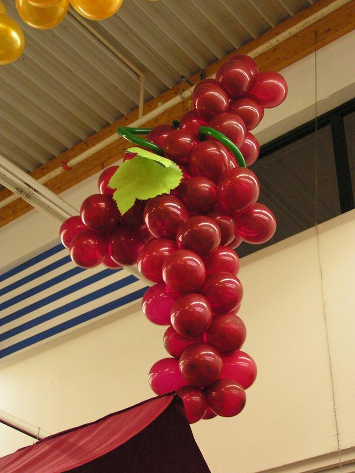 Ballons grappe de raisin