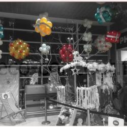 Ballons baudruches pour Noël