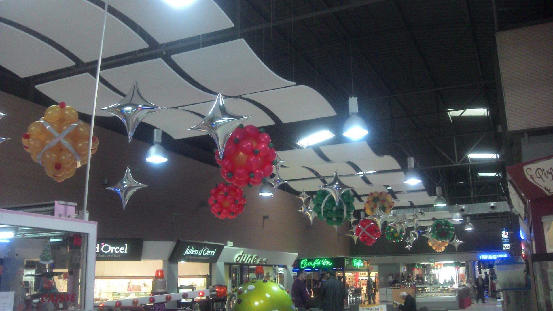 décors de Noël galerie magasin