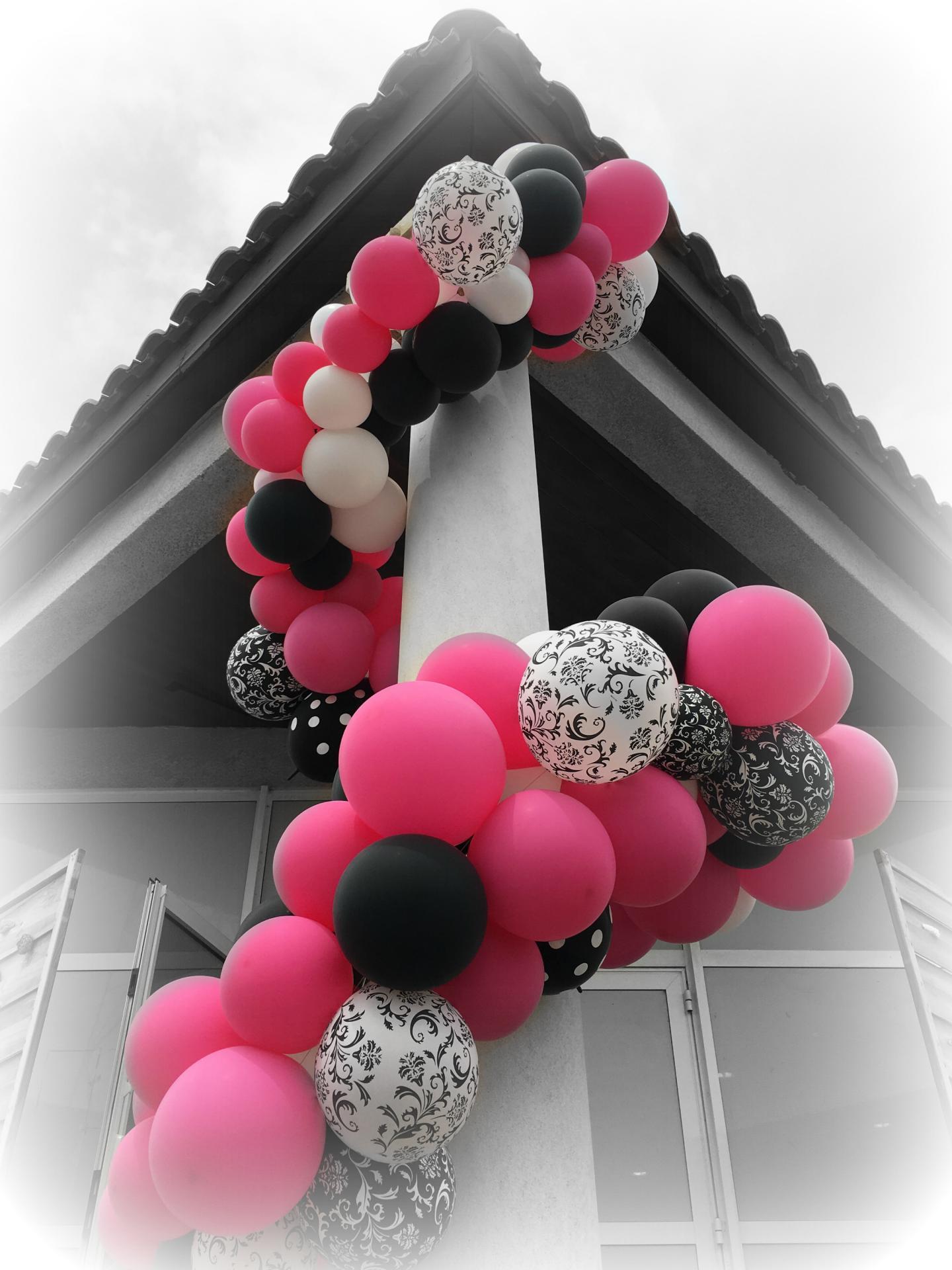 Guirlande avec Ballons