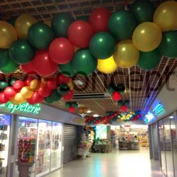Prestation Déco Ballon Centre Commercial