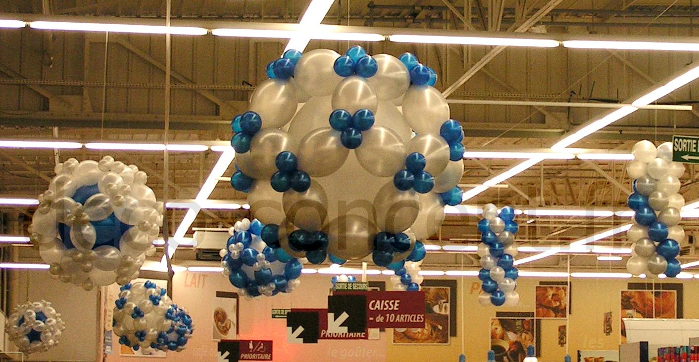 Décoration de Ballons Hypermarché