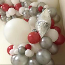 Arche latex et mylar aluminium