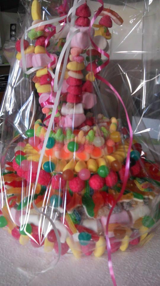 Base bonbons pour centre de table