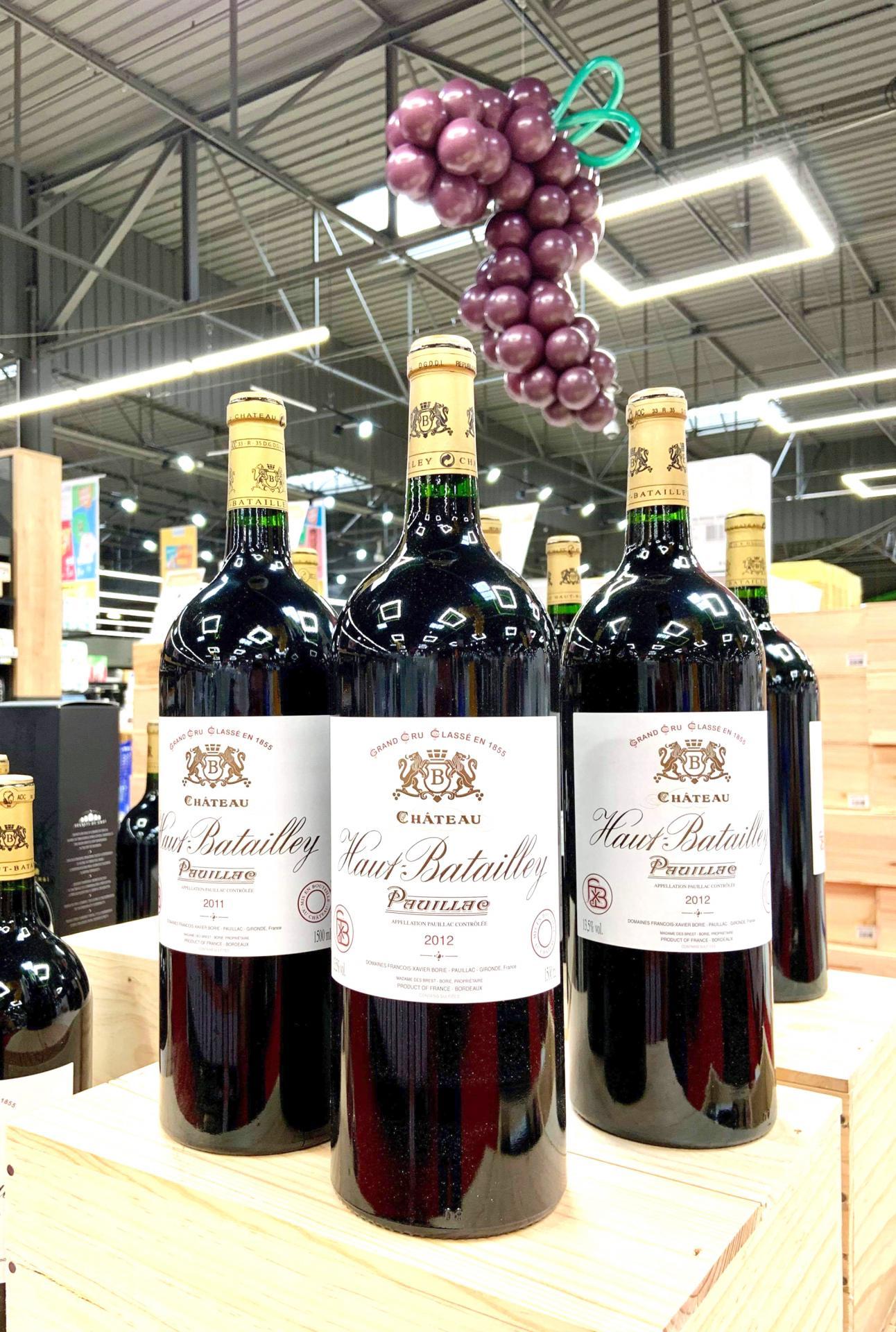 Décor en ballon Foire aux vins Leclerc
