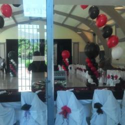 Déco salle cabaret mariage