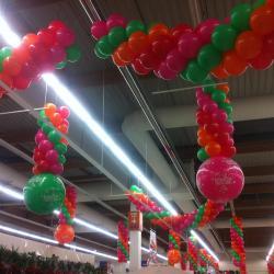 Décoration ballons Anniversaire Leclerc orlydis
