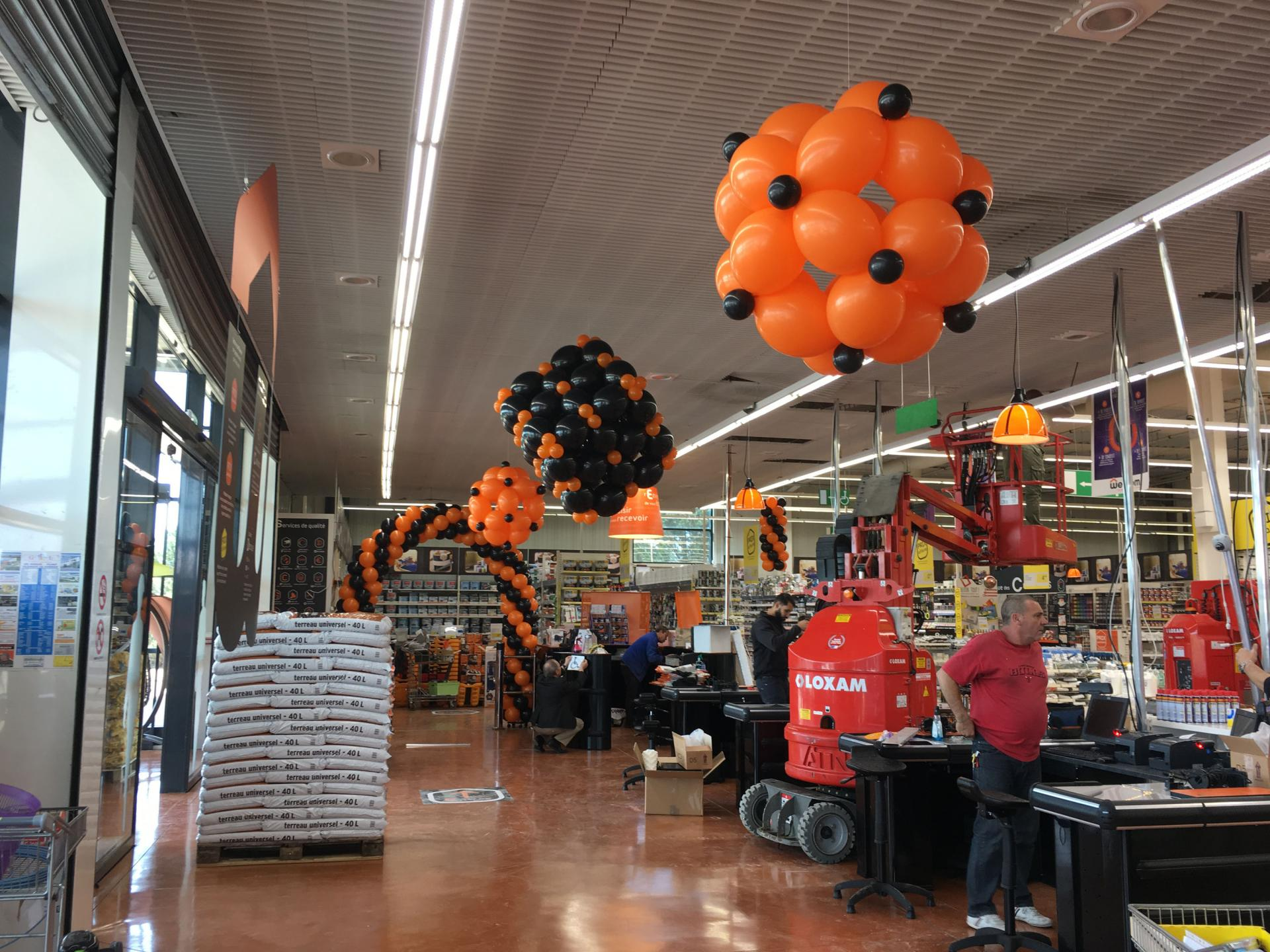 Arche ballon magasin