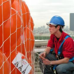 Envolée de ballons 120 ans la Tour Eiffel