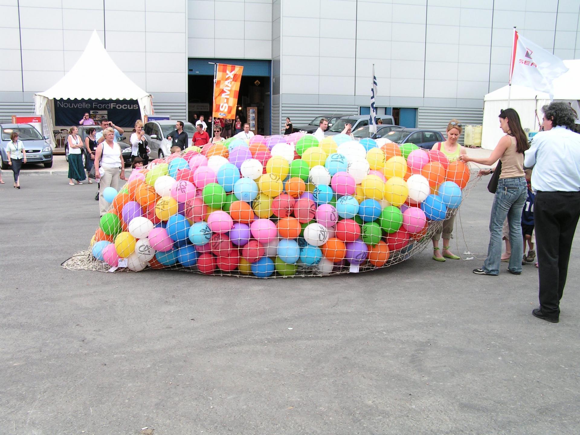 Lâcher de Ballons Crédit Agricole
