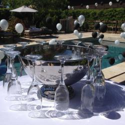 Réception & ballons gonflés hélium et lestés