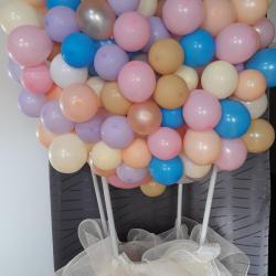 Montgolfière organique de ballons