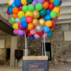 Montgolfière en ballon