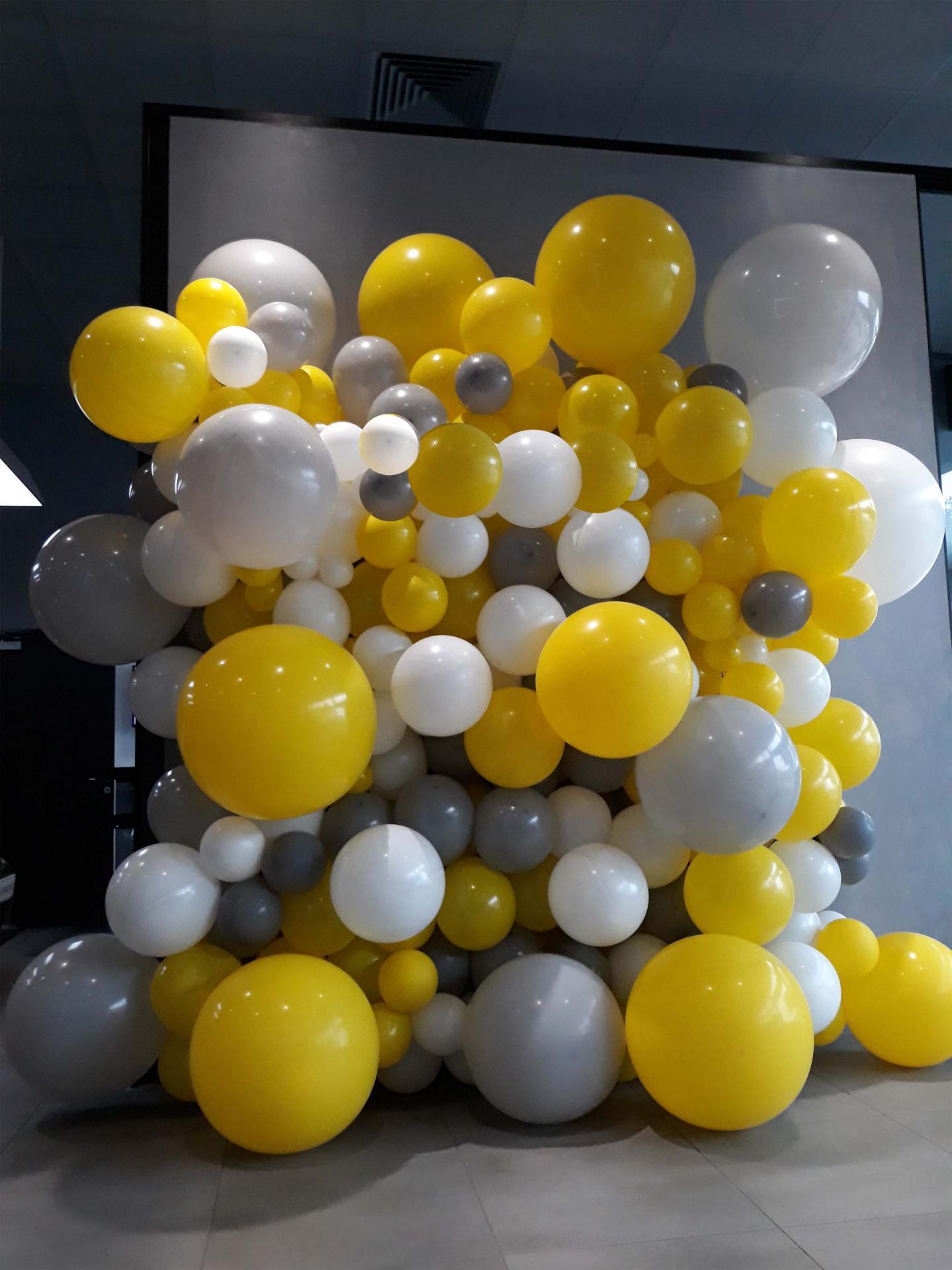 Photocall ballon pour lancement produit