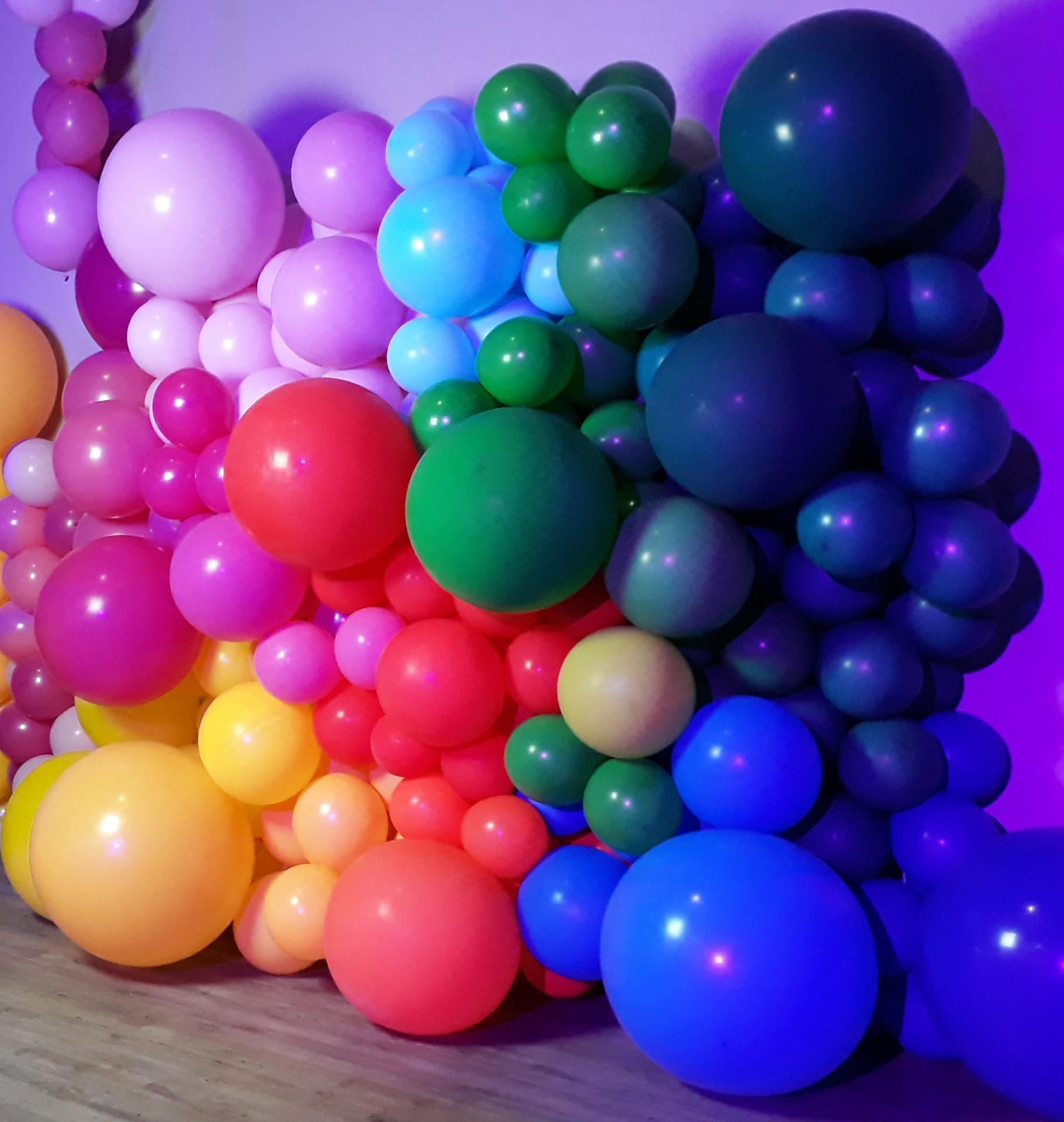 Mur en ballon photocall