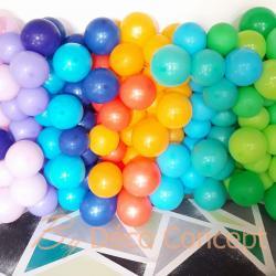 Mur de ballons organique