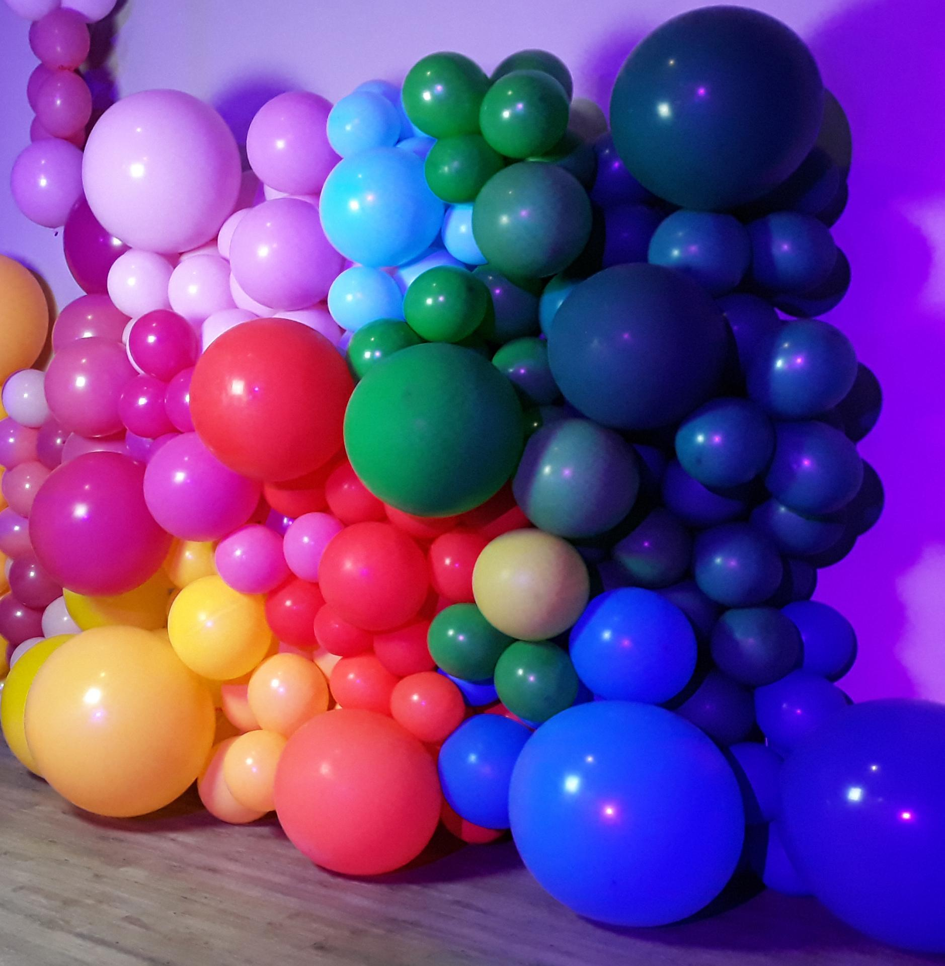 Mur en Ballons pour photo cabine - borne selfies