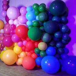 Photocall en ballon soirée CE